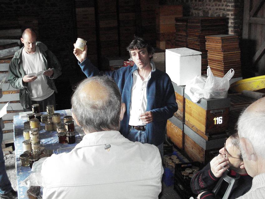 Visite à Marchiennes en France chez Patrik Vandecasteele 2007