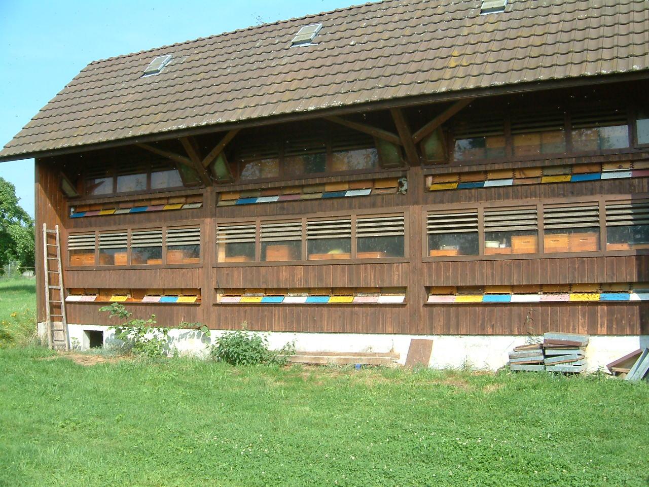 Voyage en Alsace chez Joseph Mislin 2004